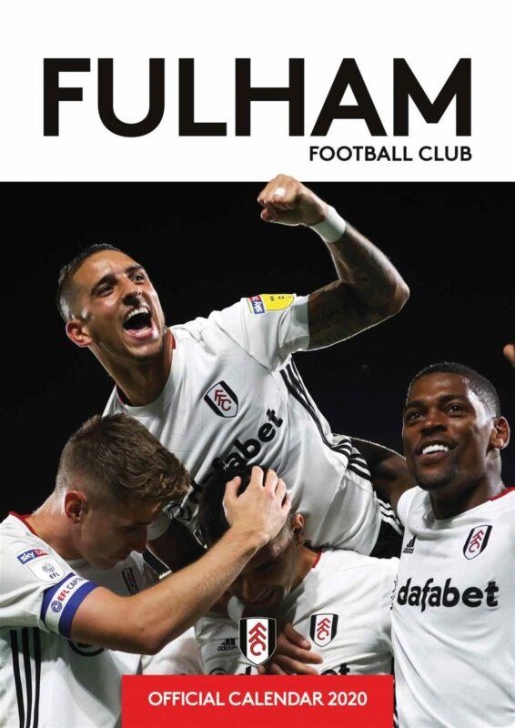Fulham+FC+2020+Official+A3+Wall+Calendar+Football