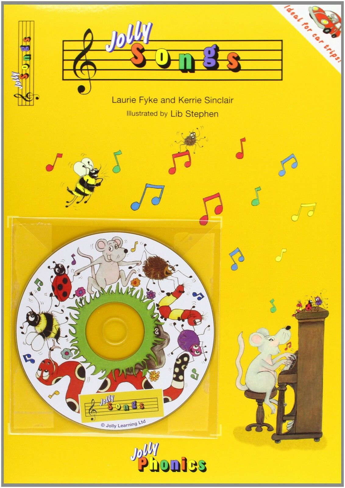 Jolly Songs (Jolly Phonics) (BOOK & CD)BRAND NEW FREE FAST  DELIVERY