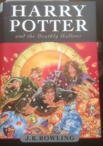 4 Hard Cover Harry Potter Books