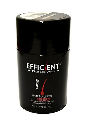 EFFICIENT Hair Loss Concealer 12g / 0.42oz Medium Brown for sale  Shipping to India