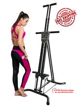 X Factor Climber Vertical Climber Stepper Resistance Gym Workout
