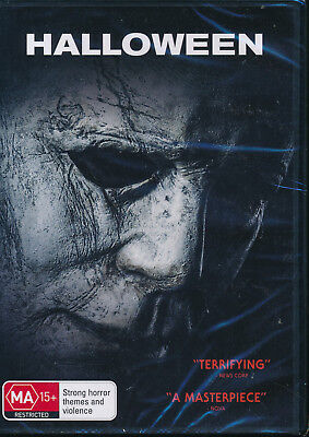 Halloween 2018 DVD NEW Region 2 4 5 Jamie Lee Curtis Judy Greer  (Halloween 5 Jamie)