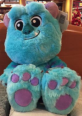 "Sulley Plush Big Feet 10"" Monsters Inc University Disney World Theme Parks NWT"