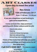 Art Class for adults-Learn to paint with Water colours & Acrylic Airport West Moonee Valley Preview