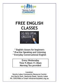 Free - English Conversation Group