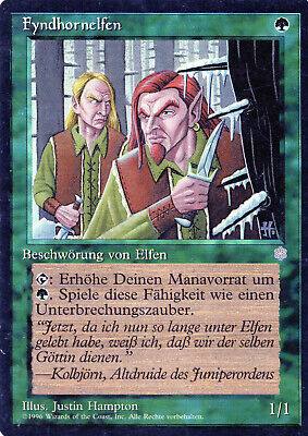 Fyndhorn Elves / Fyndhornelfen - Ice Age - Magic - PL - DE gebraucht kaufen  Hannover