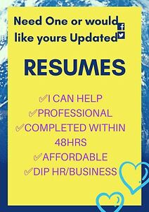 Resumes and Cover Letters North Ipswich Ipswich City Preview