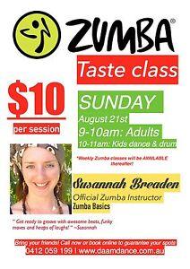 $10 Zumba taste class @DAAMdance Blackburn Blackburn South Whitehorse Area Preview