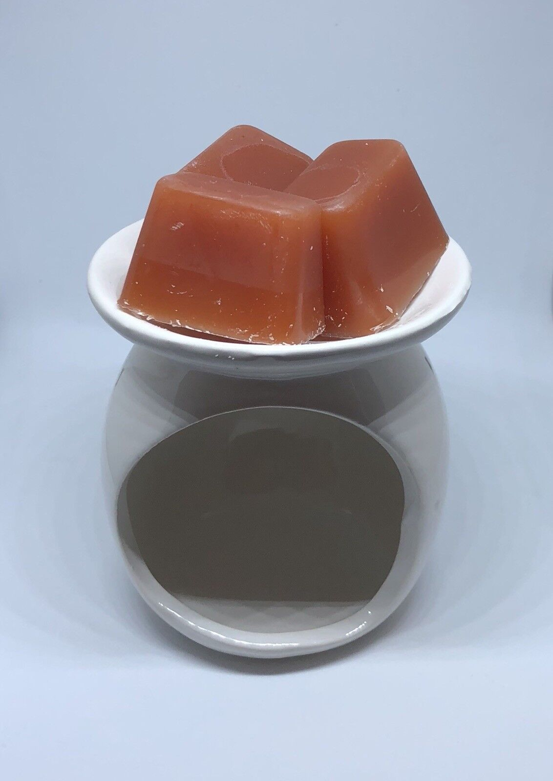 Ceramic Candle Holder Wax Melt Warmer with 3 pcs Apple Cinna
