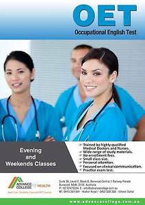 Worried about OET test ?? Burwood Burwood Area Preview