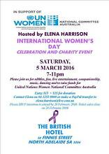 CELEBRATION OF INTERNATIONAL WOMEN'S DAY North Adelaide Adelaide City Preview