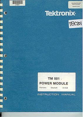 Tektronix TM 5006 Power Mod Op /& Service Manual Loc.Tek 208