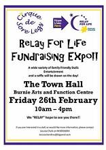 Relay for Life Fundraising Expo Upper Burnie Burnie Area Preview