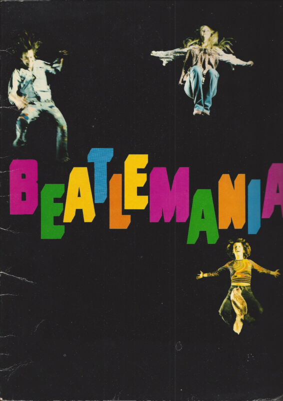 Vintage Beatlemania Tour Program Circa 1970