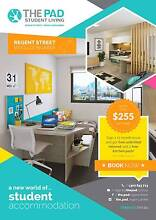*****The Pad at Regent Street - Studio & 5 Bedroom Apartments**** Woolloongabba Brisbane South West Preview