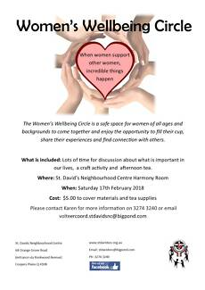 Women's Wellbeing Circle