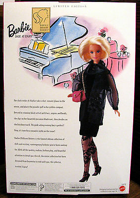 Mattel Millicent Roberts Collection Barbie Date At Eight 16078 1996