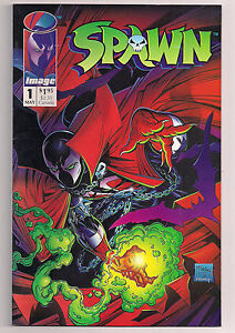 Spawn #1 and Spawn #2 comic books (1 of each)  READ this auction!