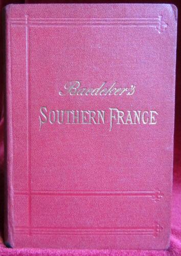 Baedeker's Southern France 1902