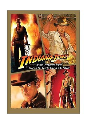 Indiana Jones The Complete Adventure Collection Dvd All Movies Box Free Exp Ship
