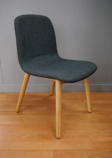 New Grey Ash Replica Featherston Contour Timber Dining Chairs