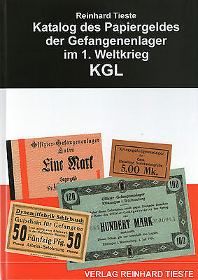 1020: Katalog des Papiergeldes der Gefangenenlager im 1.Weltkrieg KGL