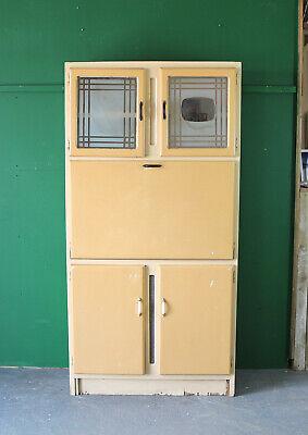 Tall Vintage Kitchen Unit, Cabinet, Larder Cupboard, Worktop, Retro, Refurb