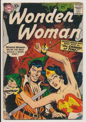 Wonder Woman #94 DC Comics 1957 Robin Hood