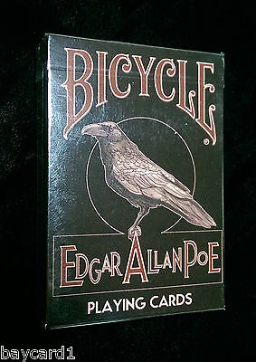 Bicycle EDGAR ALLAN POE ~ LIMITED EDITION Playing Cards ~ USPCC