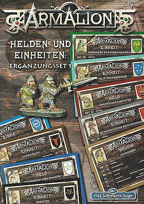 RPG DSA Armalion Helden und Einheiten Ergänzungsset 1 SC NEU!