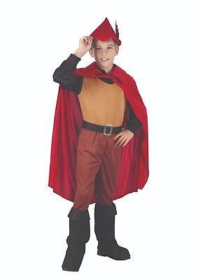 Kinder Robin Hood Prinz Kostüm 3 Größen Buch Woche Märchen - Märchen Kostüm Männlich