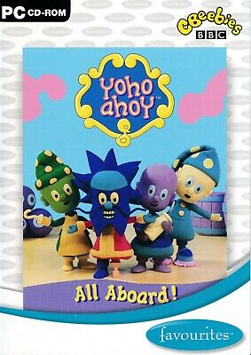 CBEEBIES Yoho ahoy - All Aboard ! BBC - PC CD-ROM (Disc in Sleeve)