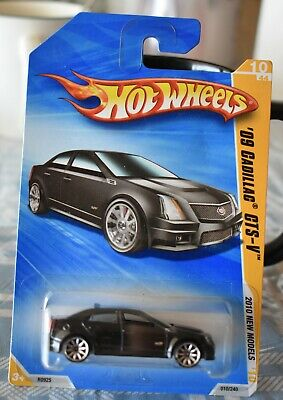 HOT WHEELS '09 CADILLAC CTS-V 2010 New Models  10/44 NEW