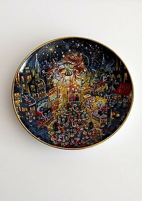 The Franklin Mint Heirloom Limited Edition Fine Porcelain Plate-Numbered-Signed