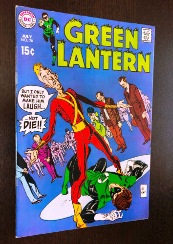 GREEN LANTERN #70 (DC 1969) -- VF-