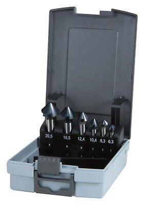 Ruko 6pcs. Hss-tialn Taper Deburring Countersinker Set C 90 Made In Germany