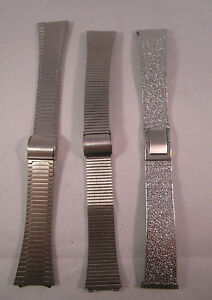 Stainless-Steel-Strap-Band-Clasps-For-Watches-In-3-Styles-X2