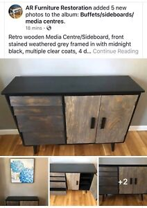 Upcycled Handpainted Wood Furniture - Multiple Items