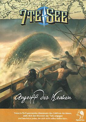 7te See: Angriff des Kraken (48015G), 2.Edition, Abenteuerband, Rollenspiel, NEU
