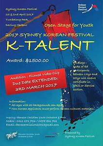 Win K-Talent! Burwood Burwood Area Preview