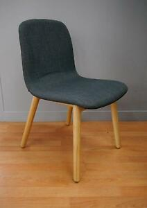New Grey Ash Replica Featherston Contour Timber Dining Chairs Melbourne CBD Melbourne City Preview