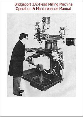BRIDGEPORT M-105 Series I Milling Machine 1.5HP Operation /& Parts Manual 0074