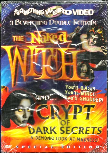 The Naked Witch/Crypt Of Dark Secrets. RARE horror double. New In Shrink!