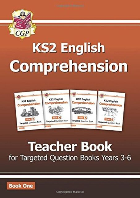 New KS2 English Targeted Comprehension: Teacher Book 1 Years 3-6 NEW BOOK