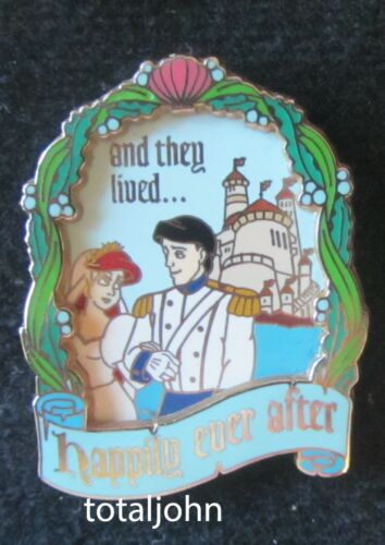 31282 WDW - Happily Ever After Series Ariel Eric 3D Pin