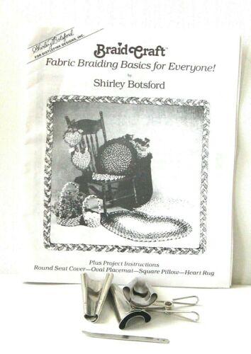 BRAID CRAFT Braiding Basic Instruction Booklet Shirley Botsford, Cones, Needle