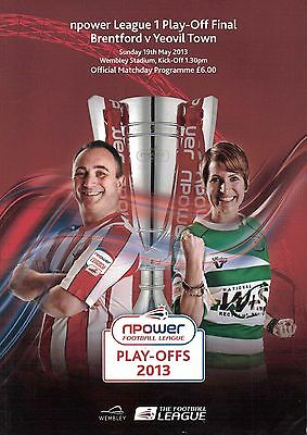Brentford v Yeovil Town - League 1 Play-Off Final 19/05/13