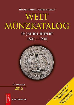 Weltmünzkatalog 19 Jahrhundert Münzen Katalog Welt 1048 Seiten Battenberg 2016