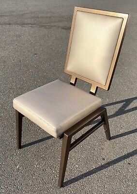 Global Allies Super High Quality Aluminum Banquet Chair Mid Century Modern Style