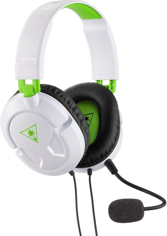 Turtle Beach Recon 50X White Stereo Gaming Headset Headphones Xbox One